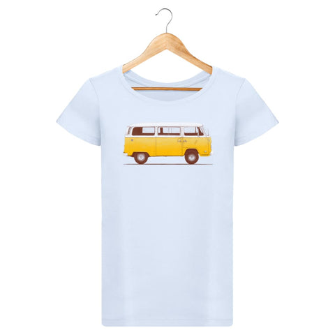 T-Shirt Femme Yellow Van By Florent Bodart Zé Connect Shirt France