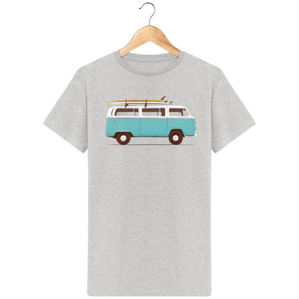 T-Shirt Homme Blue Van By Florent Bodart Zé Connect Shirt France
