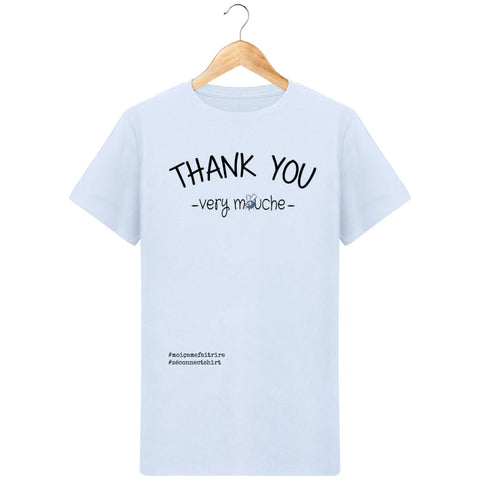 T-Shirt Homme Thank You Very Mouche - Imprimé Noir - Zé Connect Shirt France