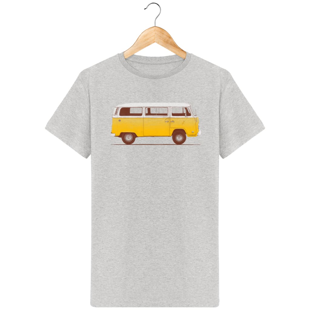 T-Shirt Homme Yellow Van By Florent Bodart Zé Connect Shirt France