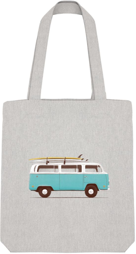 Tote Bag Blue Van By Florent Bodart Zé Connect Shirt France
