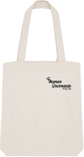 Tote Bag Maman Gourmande - Imprimé Noir Zé Connect Shirt France