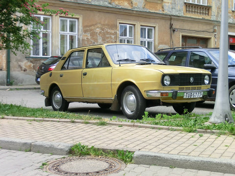 1978 Skoda 120 L Workshop Service Repair Manual