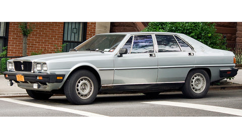 1979-1990 Maserati Quattroporte Service Repair Manual