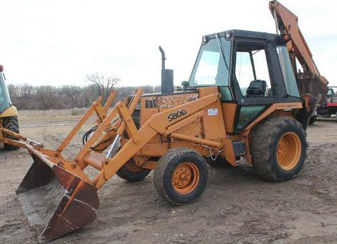 1981 Case 580D Loader Backhoe Workshop Service Repair Manual