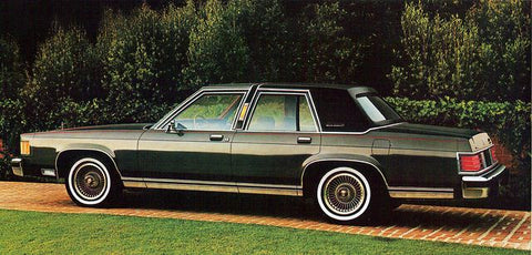 1982 MERCURY GRAND MARQUIS SERVICE REPAIR MANUAL
