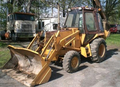 1984-1987 Case 580 Super E Loader Backhoe Workshop Service Repair Manual