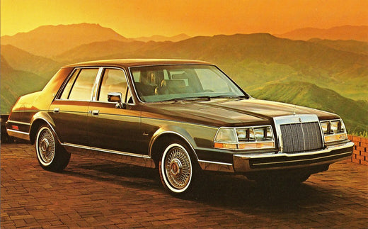1984 Lincoln Continental Workshop Service Repair Manual
