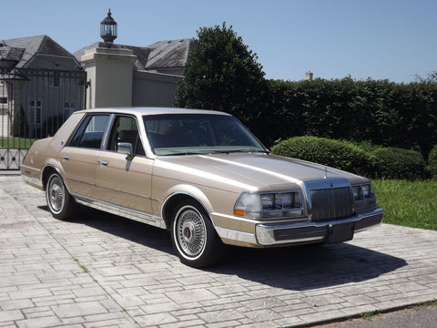 1985 Lincoln Continental Workshop Service Repair Manual