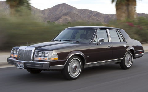 1986 Lincoln Continental Workshop Service Repair Manual