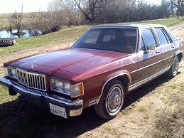 1986 MERCURY GRAND MARQUIS SERVICE REPAIR MANUAL