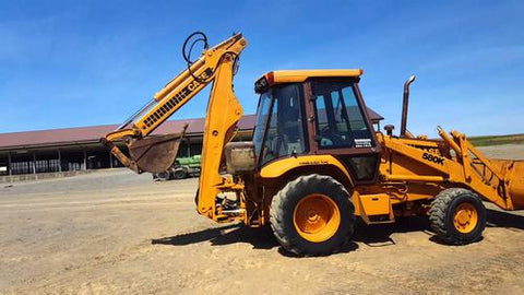 1987-1988 Case 580K Loader Backhoe Workshop Service Repair Manual