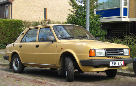 1987 Skoda 120 L Workshop Service Repair Manual