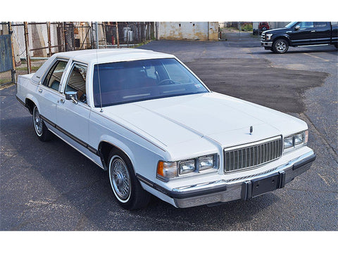 1989 MERCURY GRAND MARQUIS SERVICE REPAIR MANUAL