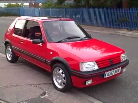 1992 Peugeot 205 Workshop Repair manual DOWNLOAD
