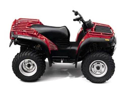 1999-2000 Can-Am BRP Traxter 500 650 ATV Service Repair Manual