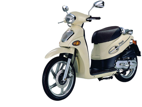 2001-2012 Kymco People 50 Workshop Service  Repair Manual Download