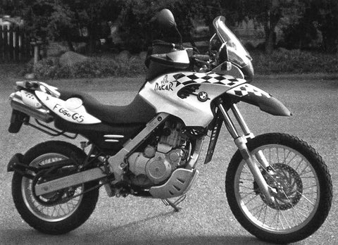 2001 BMW F650 GS DAKAR SERVICE REPAIR MANUAL