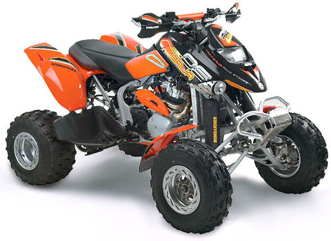 2001 BOMBARDIER DS 650 ATV SERVICE REPAIR MANUAL