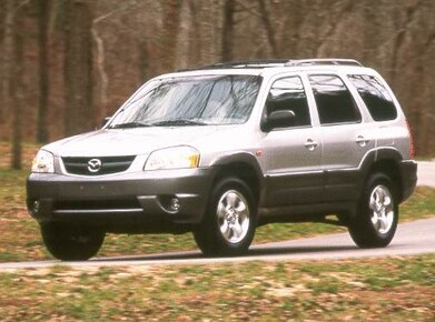 2001 Mazda Tribute Service Repair Manual