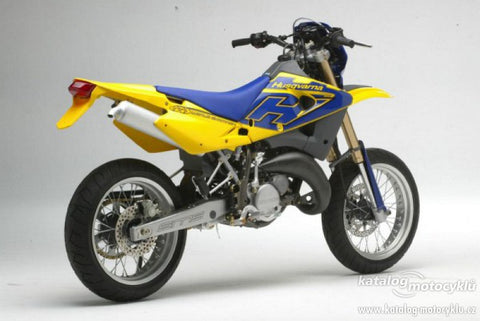 2002 Husqvarna WRE125 SM125S Motorcycle Workshop Service Repair Manual Download