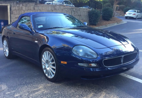 2002 MASERATI SPYDER COUPE WORKSHOP SERVICE REPAIR MANUAL