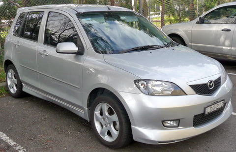2002 MAZDA 2 DY series WORKSHOP SERVICE REPAIR MANUAL