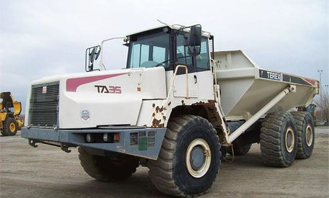 2002 TEREX TA35 & TA40 Dump Truck Workshop Service Repair Manual