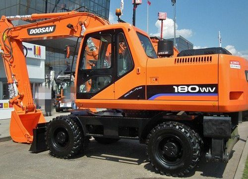 2003 Doosan Solar 180W-V Wheeled Excavator Workshop Service Repair Manual