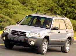 2003 Subaru Forester Service Repair Manual Download
