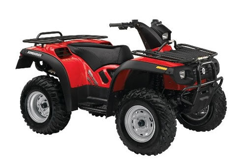 2004 Bombardier ATV Quest 500 XT Owners Manual
