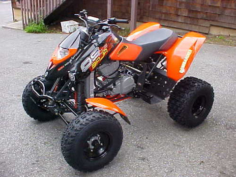 2004 Can-Am BRP DS 650 DS 650 Baja X ATV Service Repair Manual