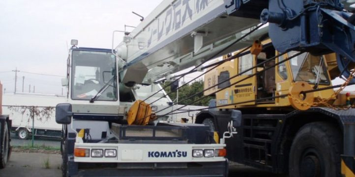 2004 KOMATSU 150A FA Mobile Crane Service Repair Shop Manual
