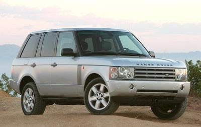 2004 LAND ROVER RANGE ROVER VEHICLES WORKSHOP SERVICE REPAIR MANUAL