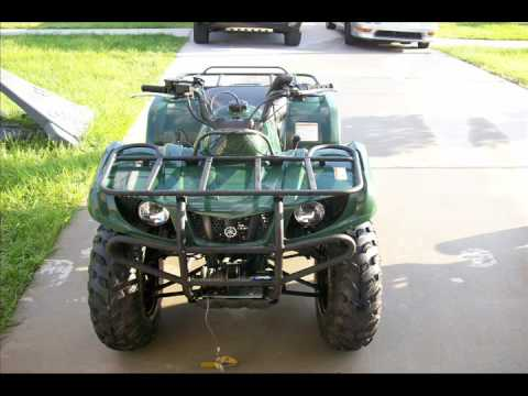2004 Yamaha BRUIN 350 4WD HUNTER GRIZZLY 350 4WD HUNTER ATV Service Repair Maintenance Overhaul Manual