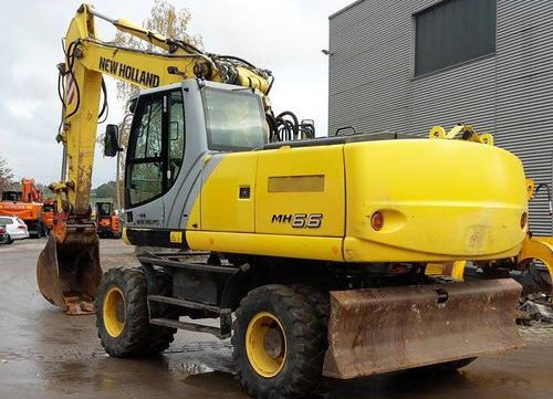 2005 New Holland MH6.6, MH8.6 Hydraulic Excavator Workshop Service Repair Manual