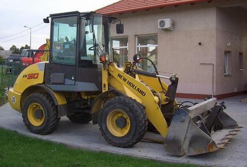 2005 New Holland W50, W60, W70, W80 Compact Wheel Loader Workshop Service Repair Manual