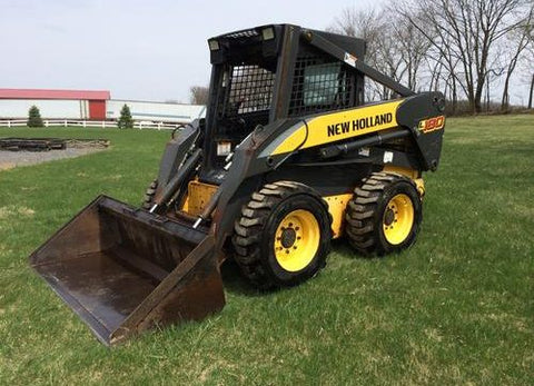 2006-2007 New Holland L180, L185, K190, C185, C190 Compact Track Loader Workshop Service Repair Manual