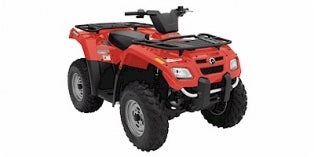 2006 CAN-AM OUTLANDER TM 400 ATV Service Repair Manual