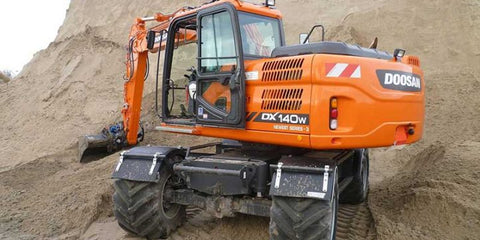 2006 Doosan DX140W, DX160W Wheeled Excavator Workshop Service Repair Manual