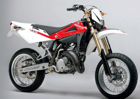 2006 Husqvarna WRE125 SM125S Motorcycle Workshop Service Repair Manual Download