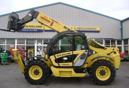 2006 New Holland LM1340, LM1343, LM1345, LM1443, LM1445, LM1745 Turbo Telehandler Workshop Service Repair Manual