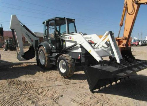 2006 Terex 820, 860, 880, 970, 980 Backhoe Loader Parts Manual