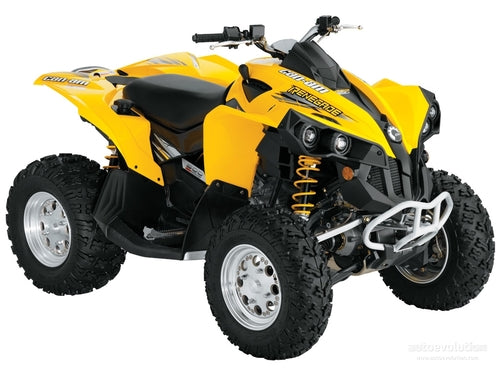 2007-2009 Can-Am Outlander & Renegade Series ATV Workshop Service Repair Manual