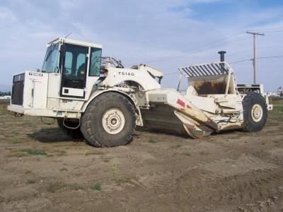 2007-2010 TEREX TS14G Overhung Scraper Parts Manual