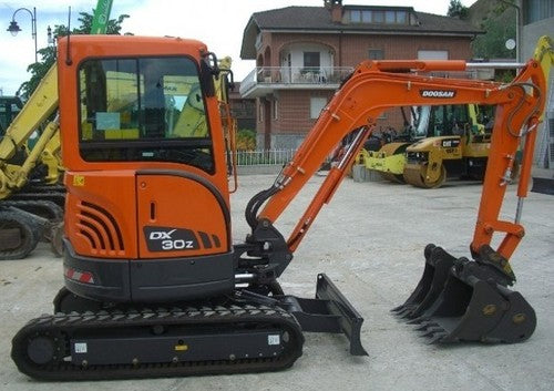 2007 Doosan DX30Z Crawled Excavator Workshop Service Repair Manual