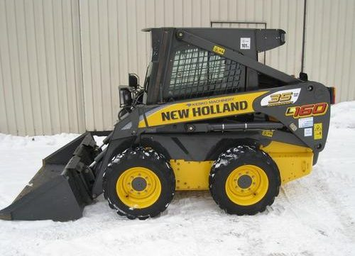 2007 New Holland L160, L170 Skid Steer Loader Workshop Service Repair Manual
