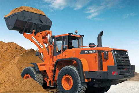 2008 Doosan DL450 Wheel Loader Workshop Service Repair Manual