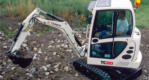 2009 TEREX TC20 Crawler Excavator Parts Manual