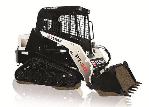 2010 TEREX PT-30 CE Rubber Track Loader Master Parts Manual